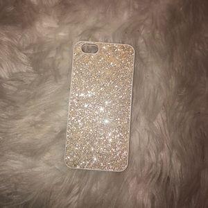 iPhone 6s White Sparkly Victoria's Secret Case